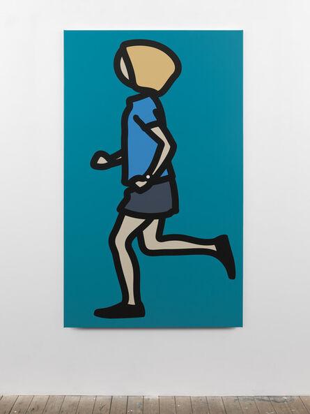 Julian Opie, 'Bibi running. 3', 2012