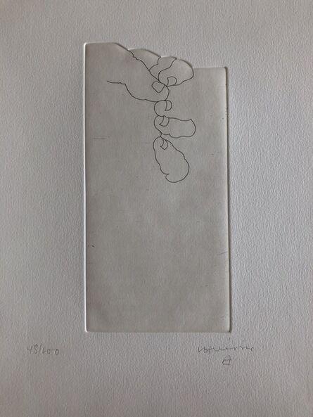 Eduardo Chillida, 'Hand XXV,From Jorge Semprún: L'Écriture ou la vie  (Spanish edition)', 1997