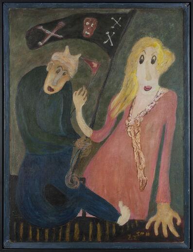 Jon Serl, 'Hand Backwards', 1982