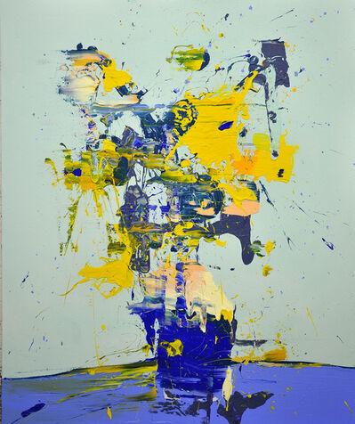 Lars Teichmann, 'Van Goghs Flowers', 2018
