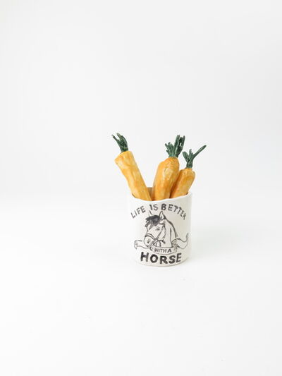 Rose Eken, 'Life Is Better With A Horse Mug And Carrots', 2017