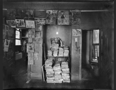 Michael Boruch, 'North wall of Henry Darger's room'