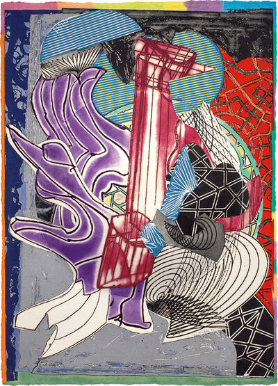 Frank Stella, 'The Fossil Whale (Dome), from Moby Dick Domes Series', 1992