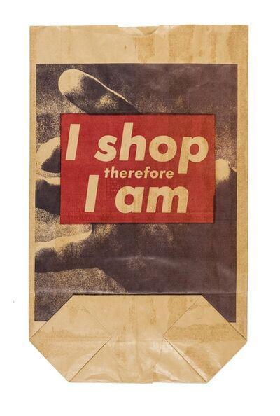 Barbara Kruger, 'I Shop Therefore I Am', 1990
