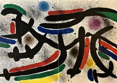 Joan Miró, 'Original Lithograph IX', 1972