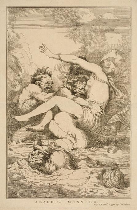 John Hamilton Mortimer, 'Jealous Monster', 1778
