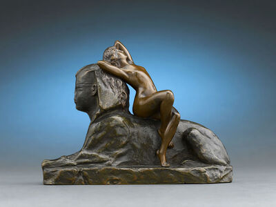 T. Herlinger, 'Sphinx', ca. 1904