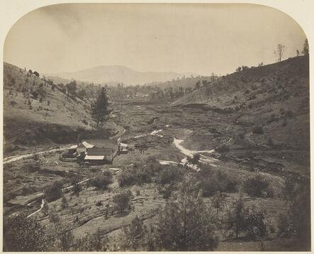 Carleton E. Watkins, 'Mormon Bar', 1860