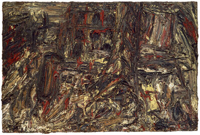 Leon Kossoff, 'Shell Building Site', 1962