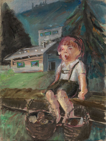 Amelie von Wulffen, 'Untitled (singing kid and mushrooms)', 2015