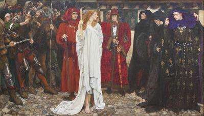 Edwin Austin Abbey, 'The Penance of Eleanor, Duchess of Gloucester', 1900