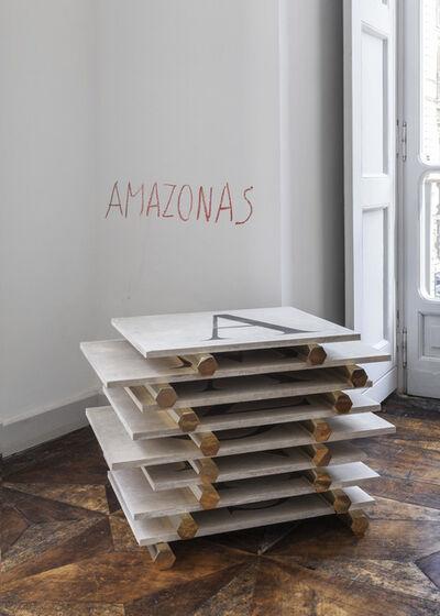 Lothar Baumgarten, 'America (America - Amazonas, Tapajos, Orinoco, Purus, Vaupes, Tocantins, Xingu)', 1983-1984/2016