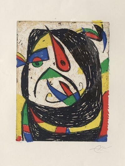 Joan Miró, 'Barb IV (D. 1224)', 1987