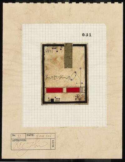 R.E.C. Thompson, 'Document No. 31', 2010