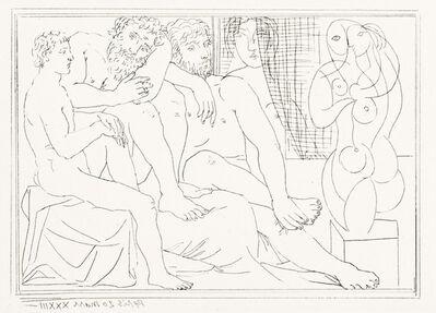 Pablo Picasso, 'Sculpteurs, Modèles et Sculpture', March 20-1933