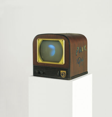 Nam June Paik, 'Moon is the oldest TV', 1994
