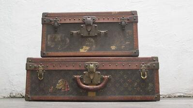 Louis Vuitton, 'Cube Trunk Travel Case  &  Alzer Trunk Travel Case', 1906