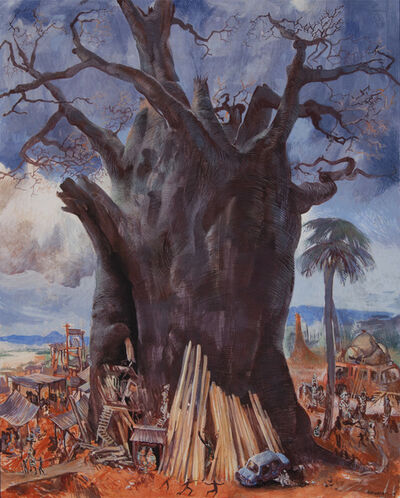 Barnaby Fitzgerald, 'Tower of Baobab', 2015