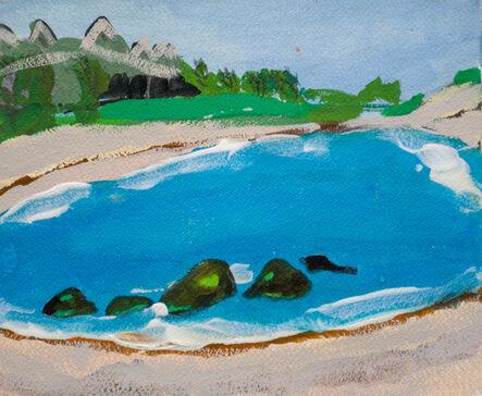 Melora Griffis, 'Tulum lagoon', 2012