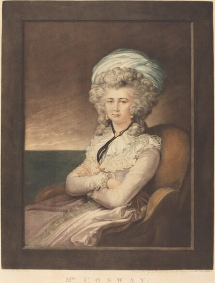 Valentine Green after Maria Cosway, 'Maria Cecilia Louisa Cosway', 1787