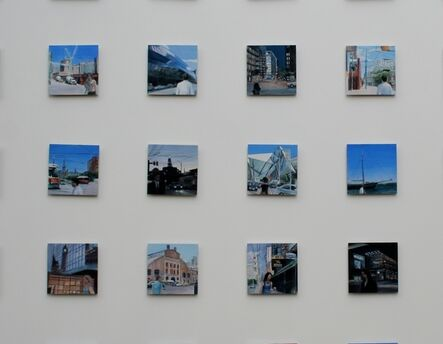 Gro Thorsen, 'City to City, Toronto, detail from series of 35', 2012
