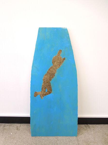 Mitsunori Kimura, 'Man of This World (Ape Jumping into Ocean) ', 2018