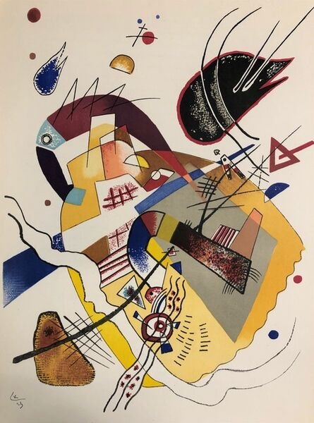 Wassily Kandinsky, 'Composition II', 1957