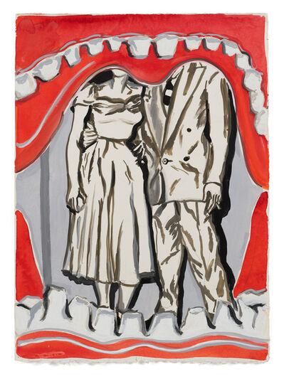 Allison Katz, 'Annie and Eddy', 2021