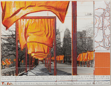 Christo, 'The Gates, Project for Central Park, New York City', 2003