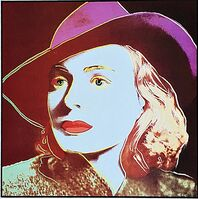 Andy Warhol, ' Ingrid Bergman for Art Basel', 1987