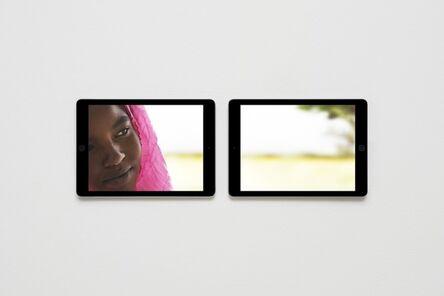 Massimo Grimaldi, 'EMERGENCY's Paediatric Centre in Port Sudan, Photos Shown on Two Apple iPad Air 2s', 2014