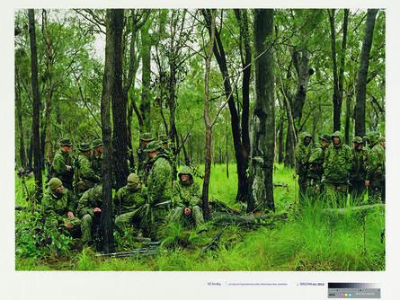 An-My Lê, 'US Marine Expeditionary Unit, Shoalwater Bay, Australia', 2005
