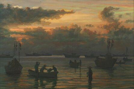 Pip Todd-Warmoth, 'Getting ready for Fishing Trip, Vietnam'