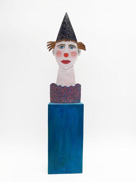 Jean Dessirier, 'Clown au nez rouge', 2013