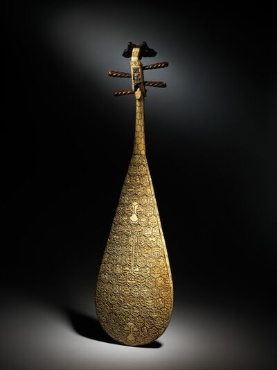 Unknown Chinese, 'Pipa', late 16th–early 17th century