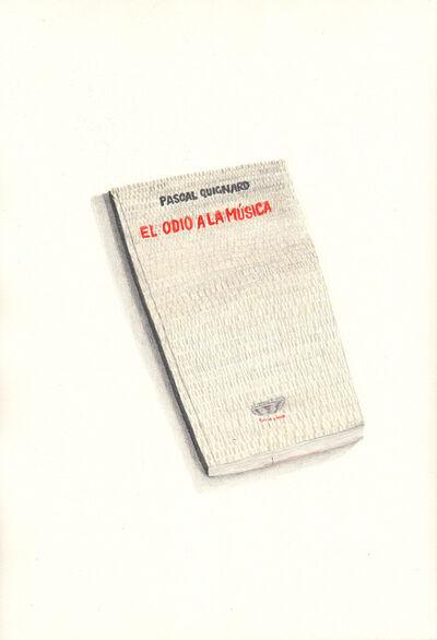 Lucas Di Pascuale, 'Quignard Montoya', 2016