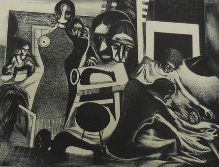 "Boris Gorelick, '""Sweat Shop""', 1937"
