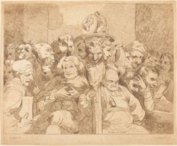 Lydia Bates, 'A Fellow of Maudlin', 1784