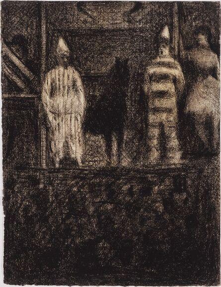 Georges Seurat, 'Sidewalk Show', 1883-1884