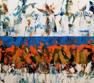 John DiPaolo, 'Untitled Blue Band #2', 2020