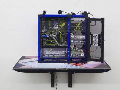 Simon Denny, 'Startup Custom Case: Seedcamp Accelerator', 2013