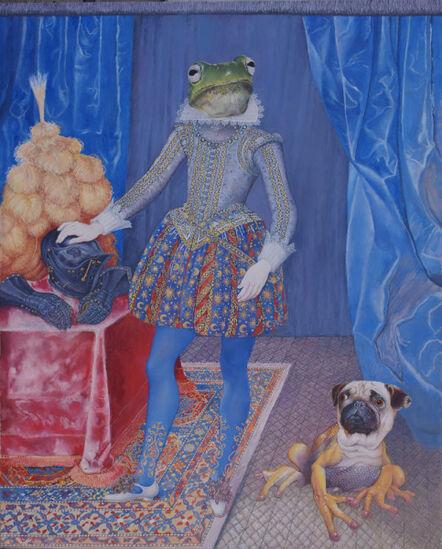 Malcolm Bucknall, 'Lord Frogmore and his Frogdog', 2017