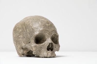 Tom Phillips, 'Humument Skull', 1996