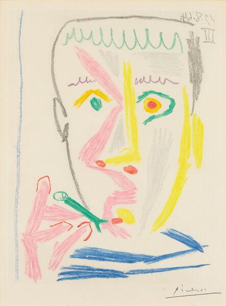 Pablo Picasso, 'Fumeur II', August 19-1964