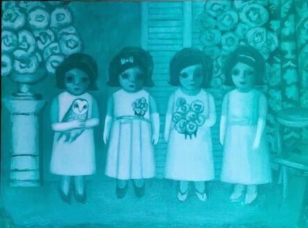 Ayse Wilson, 'Blue Debutantes', 2016