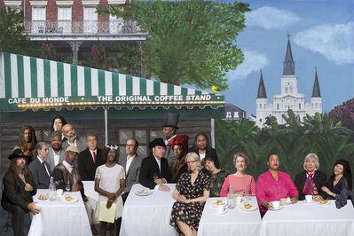 E2 - KLEINVELD & JULIEN, 'Ode to Faith Ringgold's Café des Artistes', 2014