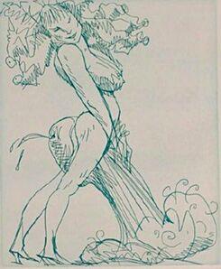 Claes Oldenburg, 'Figure & Phallus II ', 1975