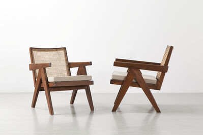 Pierre Jeanneret, 'Pair of Easy armchairs', 1952-1956