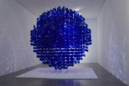 Julio Le Parc, 'Sphère bleue', 2001 / 2013