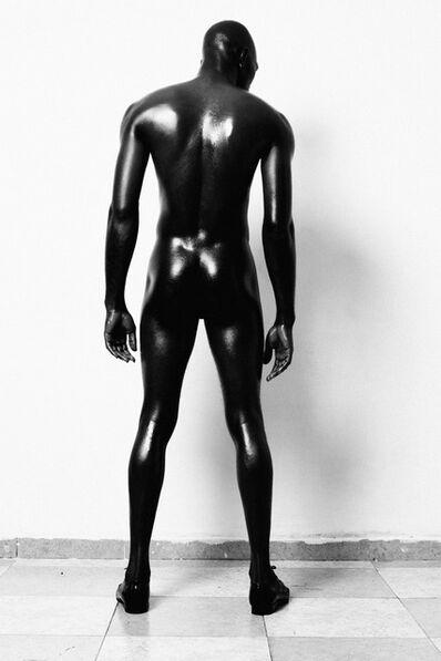 Lakin Ogunbanwo, 'Untitled (Standing Nude Back)', 2013